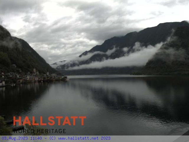 WEBkamera Hallstatt - pohled od jihovýchodu